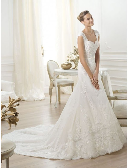 cap sleeves wedding dress