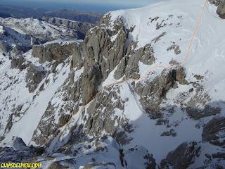 Fernando calvo guia de alta montaña uiagm , en picos de europa , guiasdepicos, guideofpicos