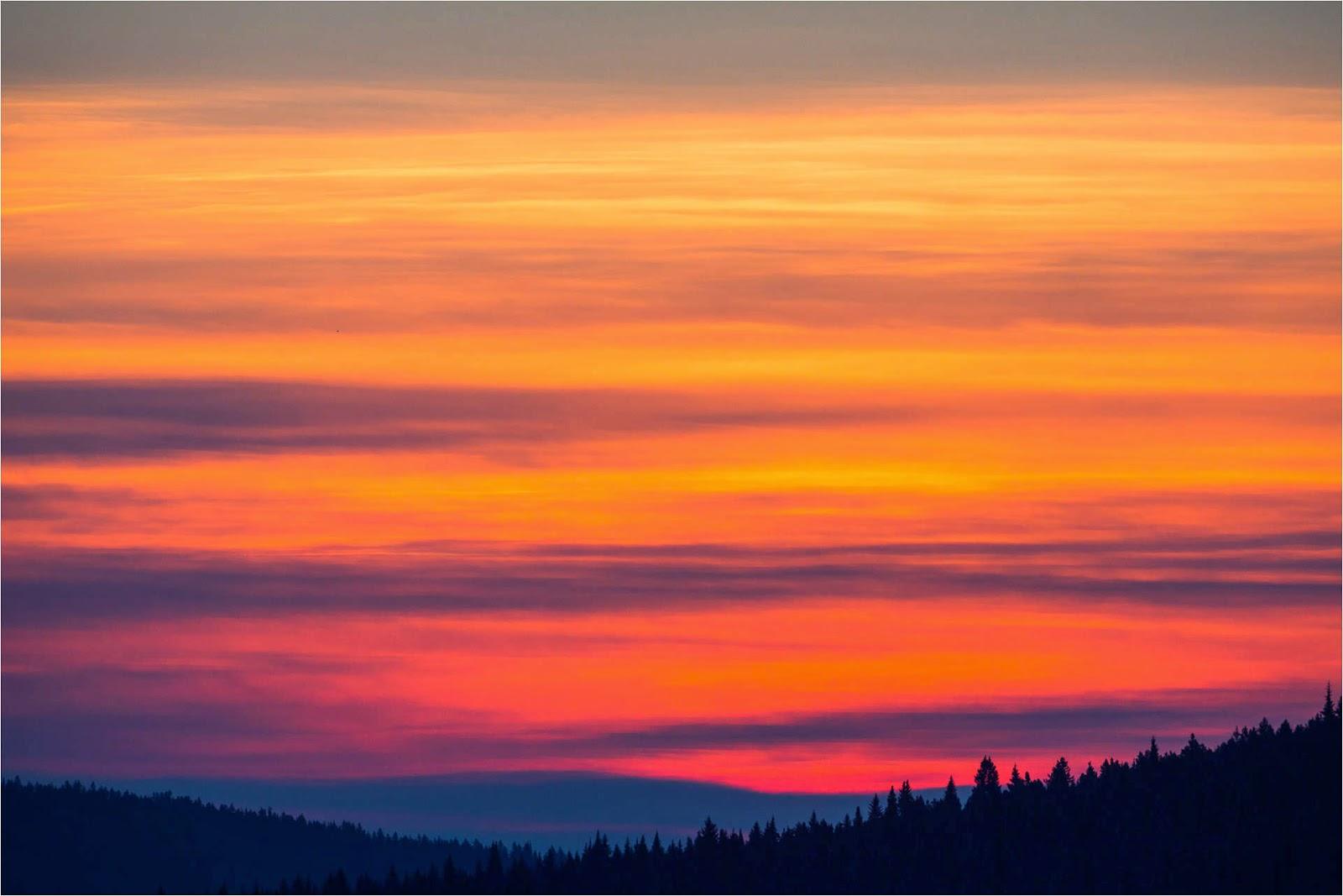Sunrise Winter Sunrise Skies