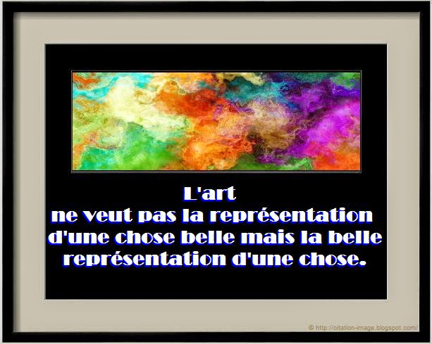 Belle citation chose en image