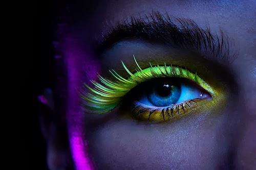 Glows In The Dark.--Neon-UV-Photos
