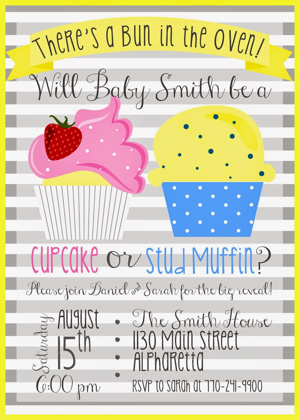 Sweet Leigh Mama - Atlanta Mommy Blog: Creative Gender Reveal Party ...