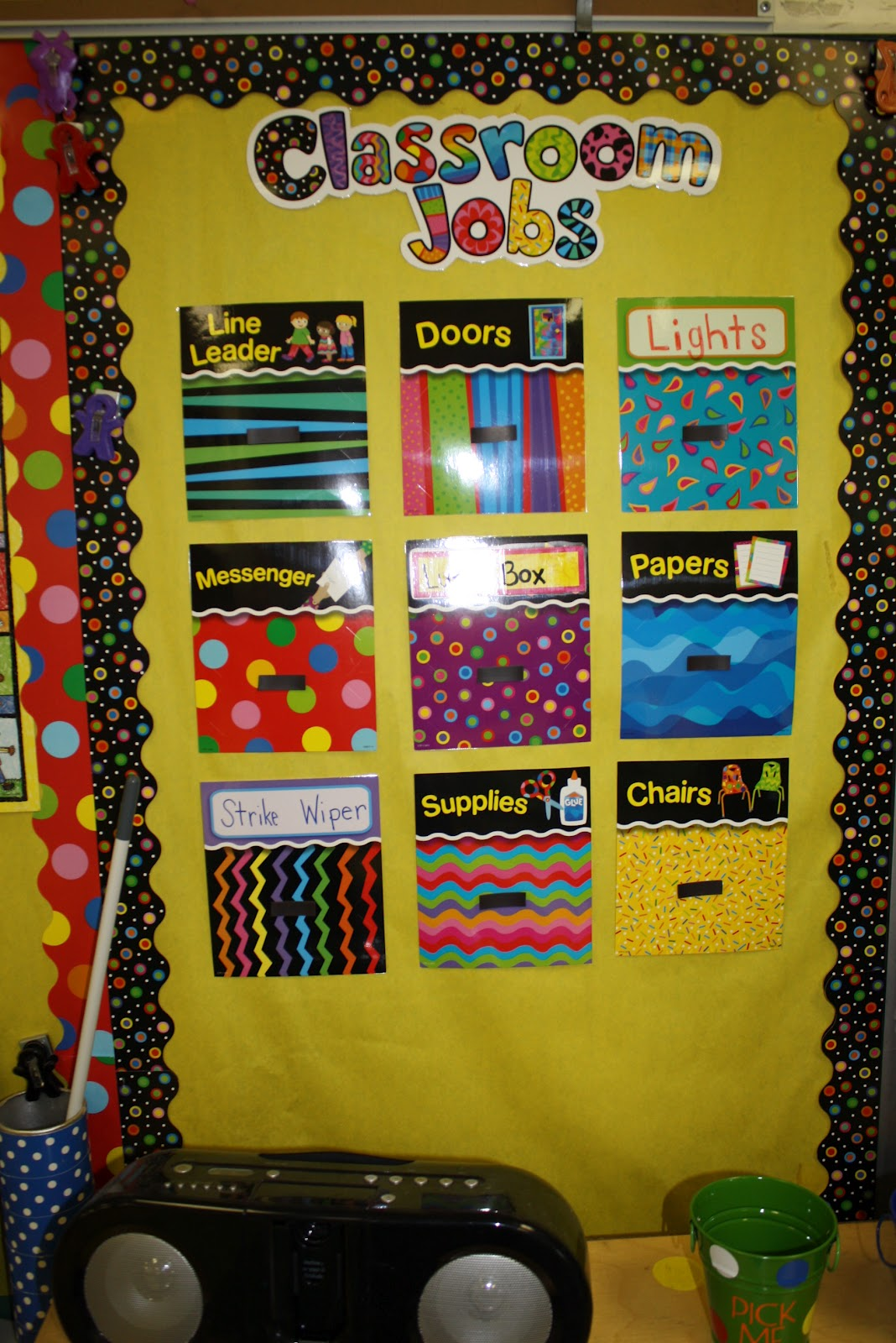 Classroom Officers Design ~ My classroom kindergarten korner