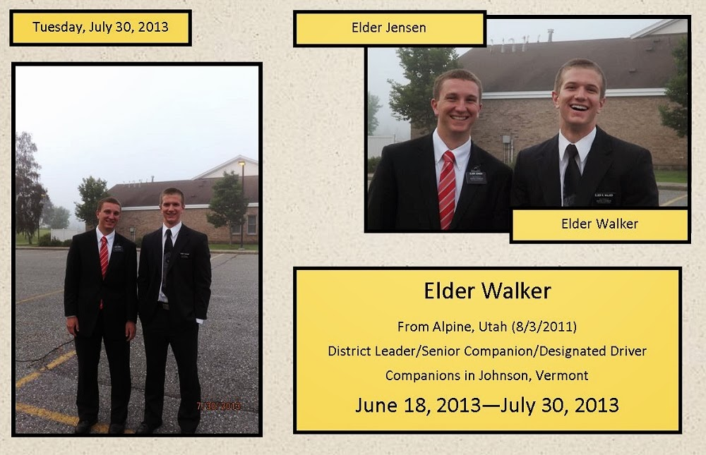 Companions from June 18 - July 30, 2013