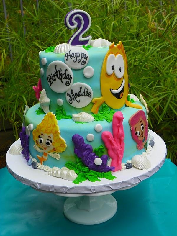 Plumeria Cake Studio Bubble Guppies Birthday Cake
