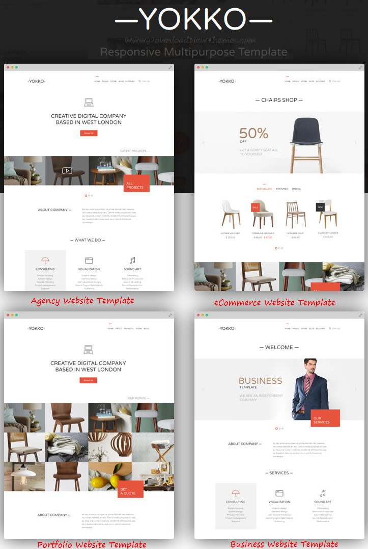 New Multipurpose WordPress Theme