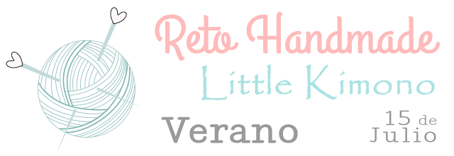 Reto handmade Little Kimono: verano