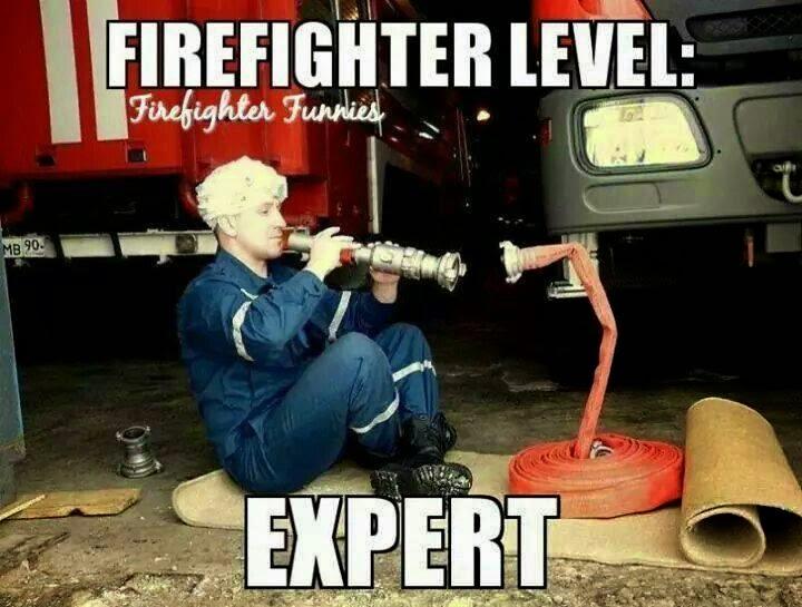 expert firefighter level, expert best of funny memes