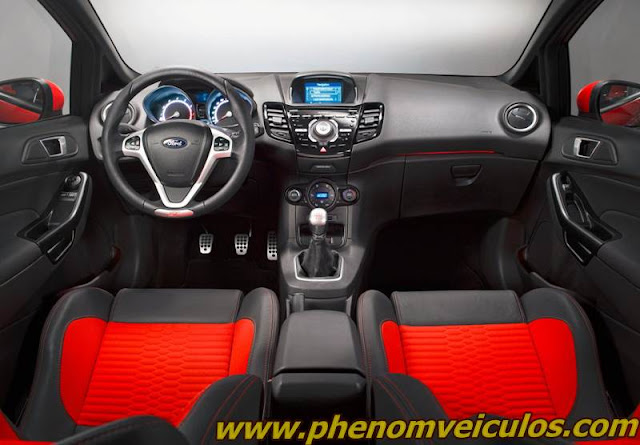 ford new fiesta 2013 - painel