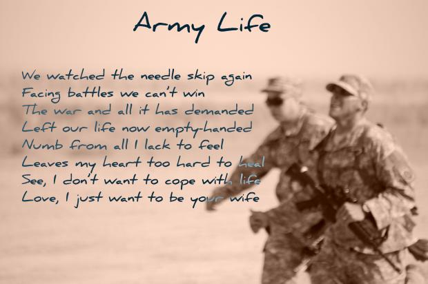 Military Poems Soldiers Army