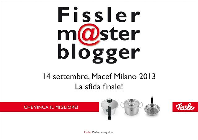 finale fissler master blogger al macef 2013, milano