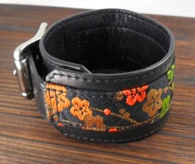 金襴織物 x Baby Calf - Dress Code Original Leather