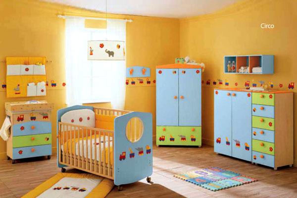 Diseo habitacion infantil cool ideas montessori para - Habitacion bebe moderna ...