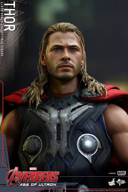 Avengers Age of Ultron Hot Toys Thor Collectible Figure