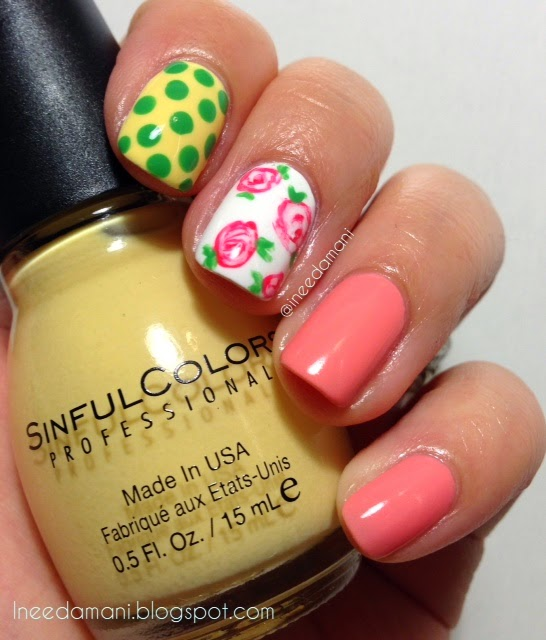 sinful colors unicorn not so delicate vintage rose nails