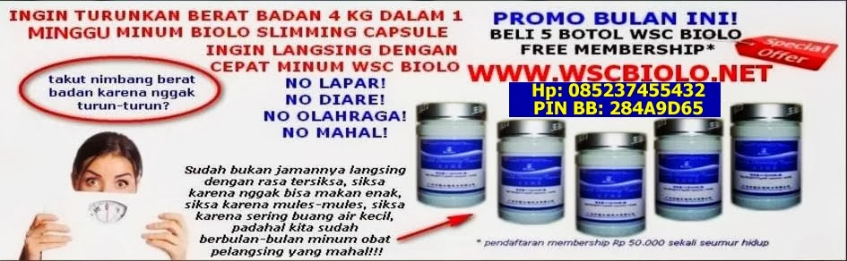 Biolo Slimming Capsule | Jual Biolo World Sliming Capsule