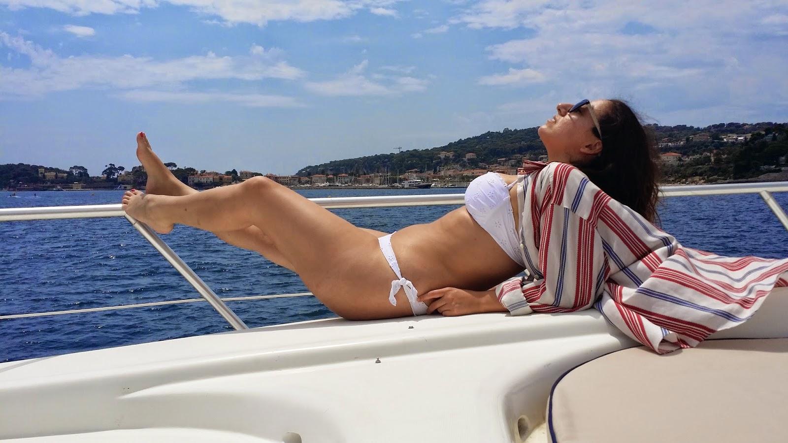 montecarlo yacht costa azzurra, veronique tres jolie