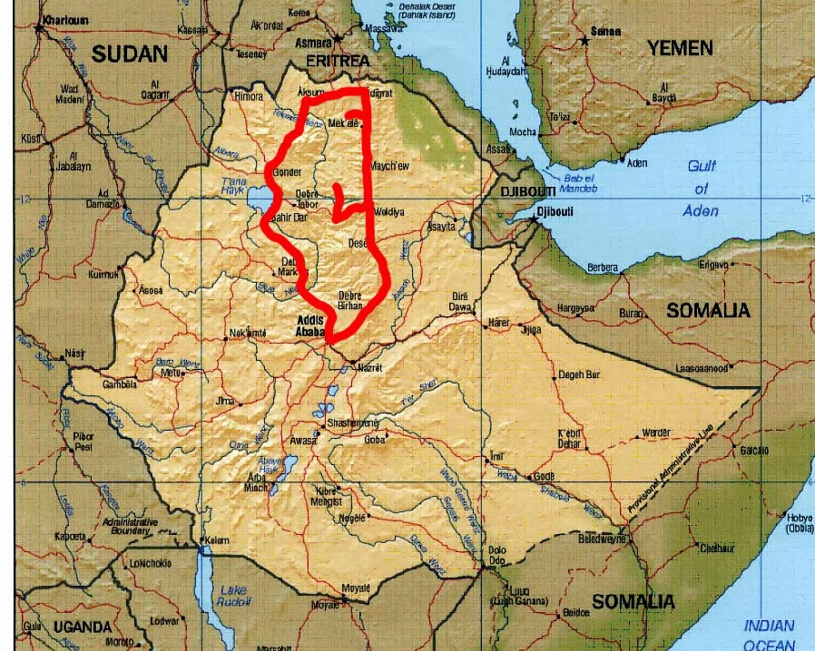 Marco Carnovale 3 31 DEC Addis Abeba to Dessie