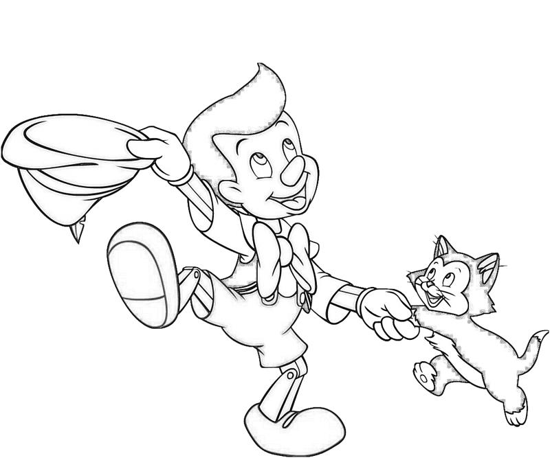 pinocchio-dance-coloring-pages
