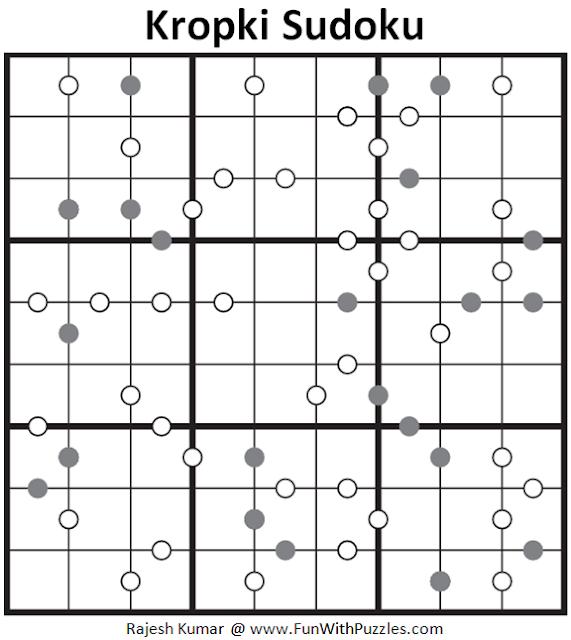 Kropki Sudoku (Fun With Sudoku #133)