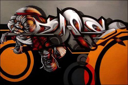 Full Graffiti Art D Part
