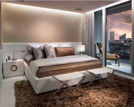 desain interior kamar tidur utama yang mewah desain