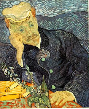 """Portrait of Dr. Gachet"" by Vincent Van Gogh (149.5 Million)"