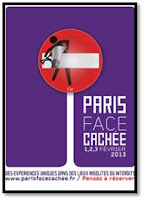 Paris face Cachée 2013 Affiche