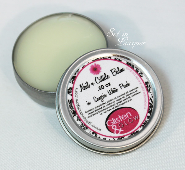 Glisten & Glow Nail and Cuticle Balm
