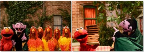 Sesame Street Count on Elmo Counting in Sesame Street