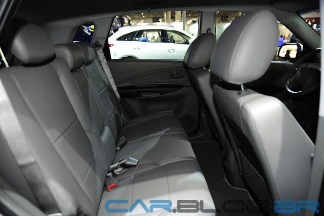 Hyundai Tucson Flex Automática 2013 - interior