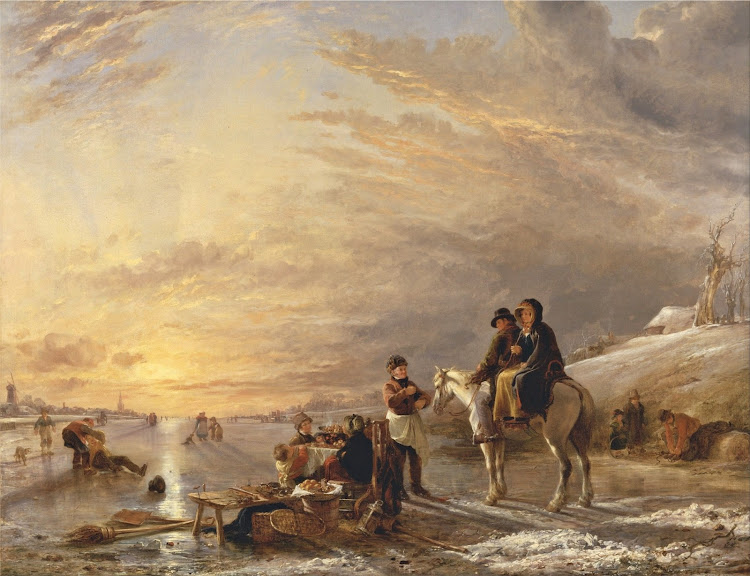 William Collins - Frost Scene