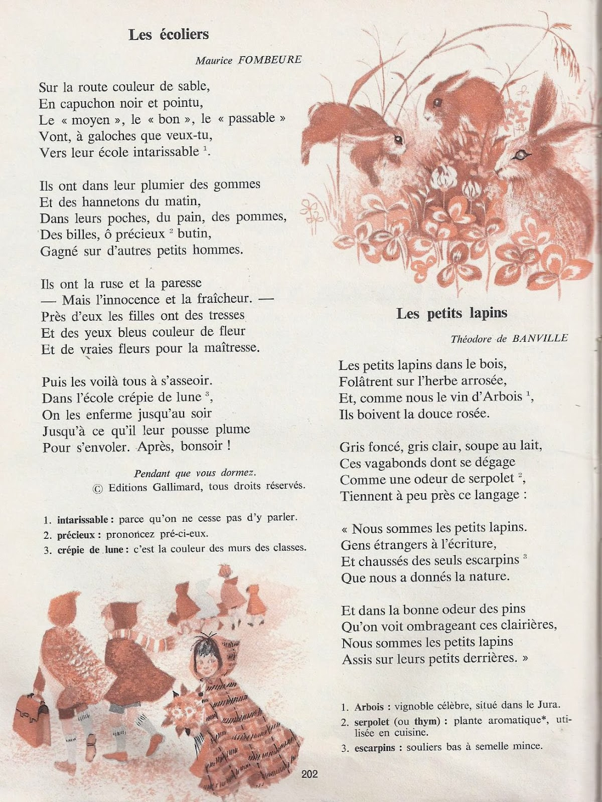 Fabulous Choix de poèmes pour le CM1 - Littérature au primaire WP47