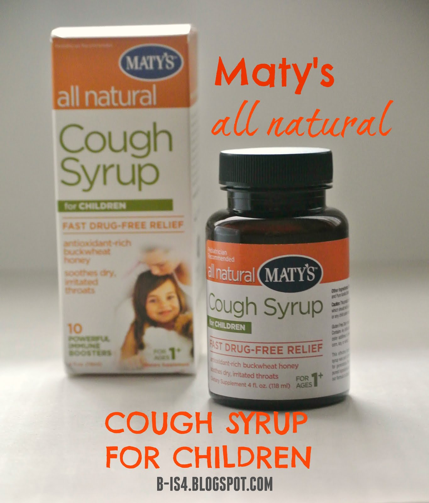 Maty's Cough Syrup for Children