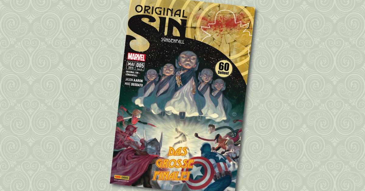 Original Sin 5 Panini Cover