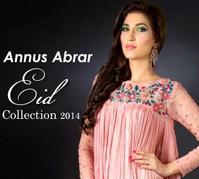 Annus Abrar Designer Dresses 2014 For Eid-Ul-Fitr