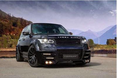 Gambar Modifikasi Mobil Range Rover Terbaru