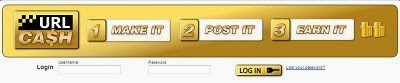 URLCash URL Sharing and Making Money Website