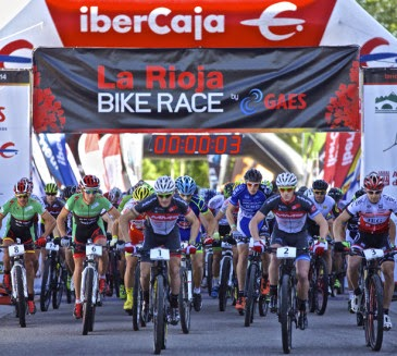 salida la rioja bike race