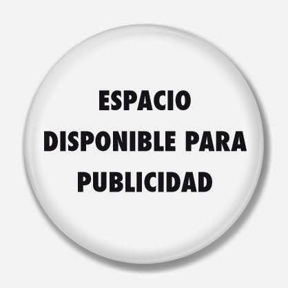 ESPACIO DISPONIBLE PARA PUBLICIDAD