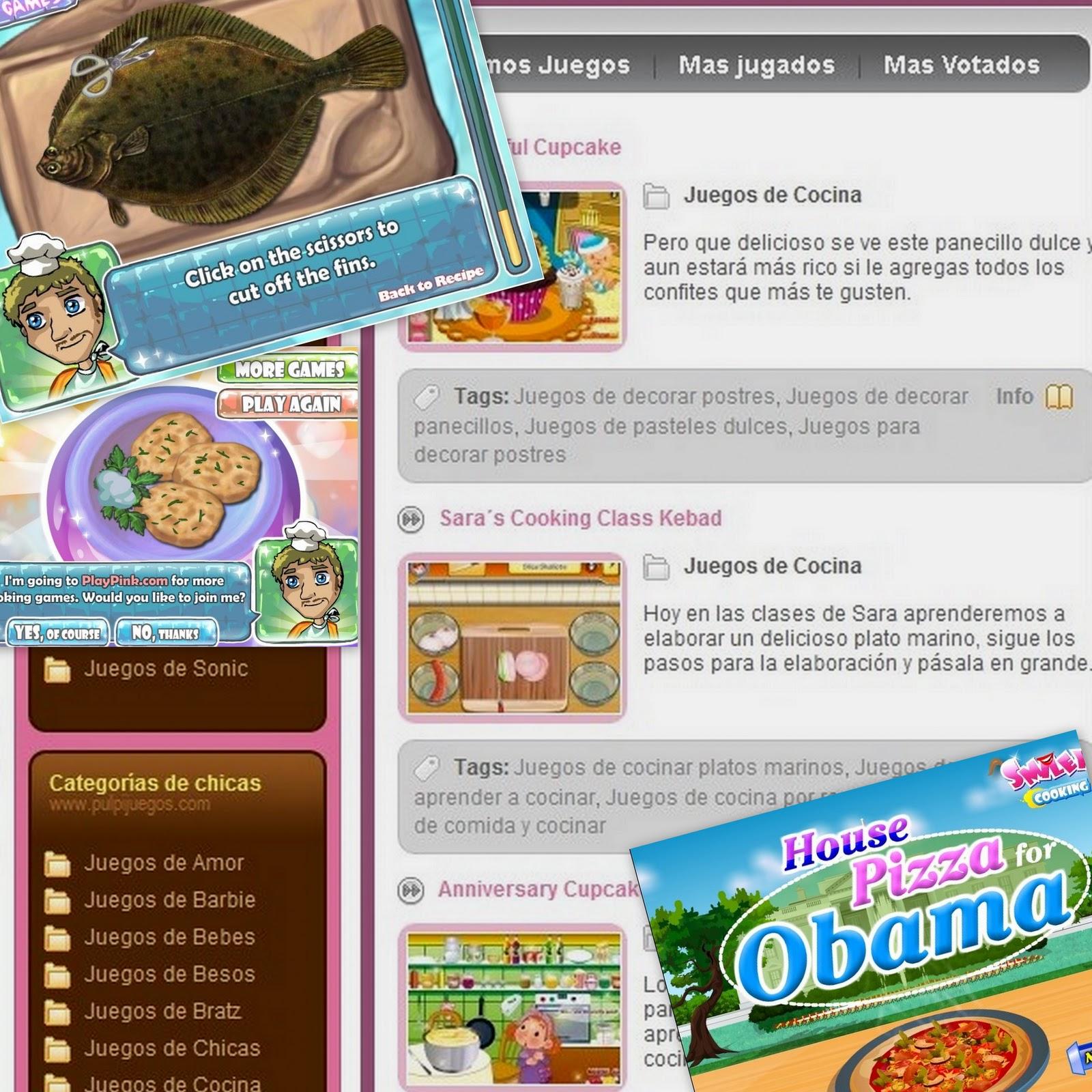 Cocina matutera pulpijuegos juegos de cocina for Ju3gos de cocina