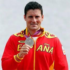 David Cal medalla de oro en C-1 piragüismo España Juegos Olímpicos de Londres 2012
