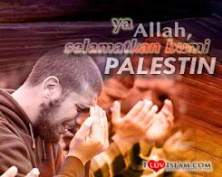 Ya Allah, selamatkan bumi Palestin