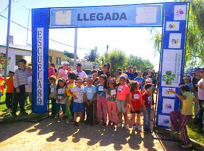 5k a beneficio de la Escuela 89 de La Paz (13/sep/2014)