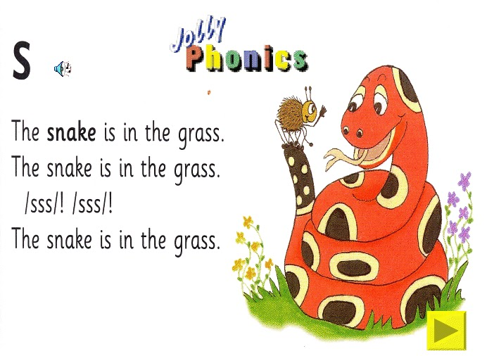 Let's learn English: Jolly Phonics Songs