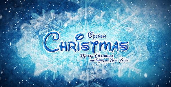 VideoHive Christmas Opener