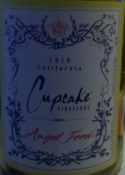 Angel Food Cupcake Wine