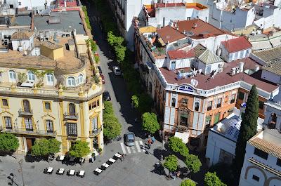 Vur du clocher de la cathédrale de Séville