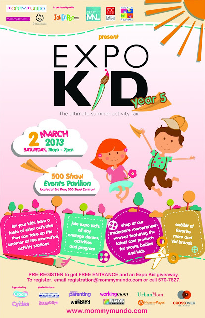 Mommy Mundo Expo Kid Year 5: The Ultimate summer activity fair