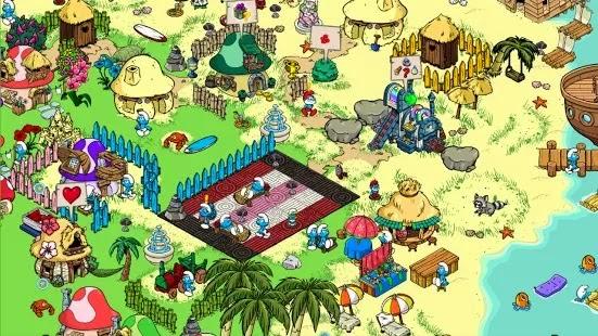 Smurfs Village Hile Apk Data Android (Çilek + Para)